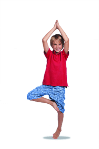 Kids Tree Pose